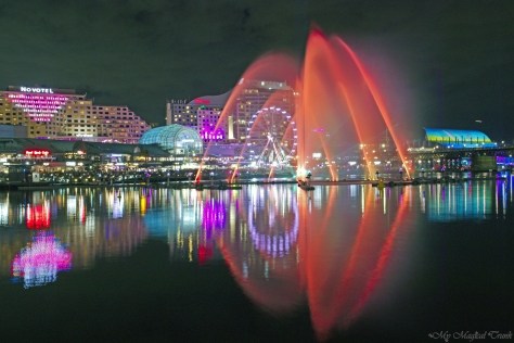 Darling Harbour lights 0