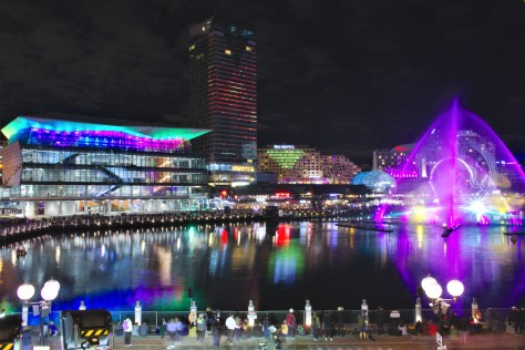 Darling Harbour lights 7