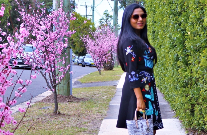 The perfect embroidered dress |ft. StyleWe