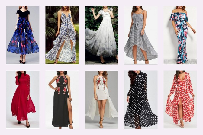 Long Maxi Dresses Wishlist| RoseGal